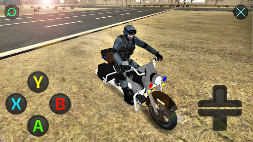 Chopper Motorbike Driving 3D