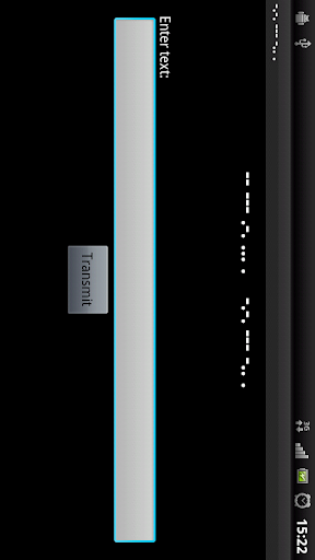Morse Code Flash
