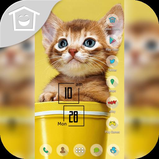 黃貓小貓的馬克杯主題 個人化 App LOGO-硬是要APP