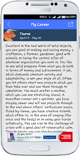 iHoroscope-Know ur Personality- screenshot thumbnail