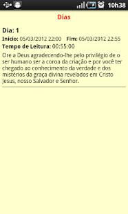 Bíblia Diária Ctrl: miniatura da captura de tela