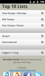 Worship Trend: current songs- screenshot thumbnail