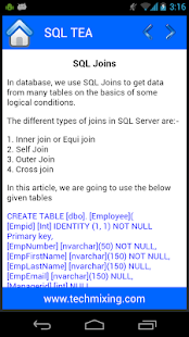 SQL Tea- screenshot thumbnail