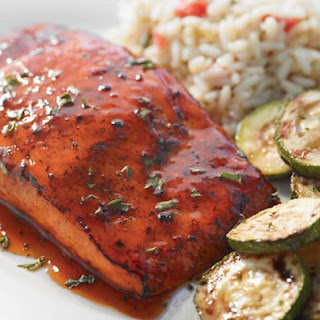 Hickory Bourbon Salmon.