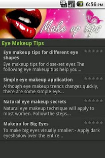 Make up Tips - screenshot thumbnail