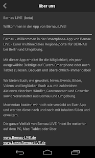 Bernau LIVE to Go! – Miniaturansicht des Screenshots
