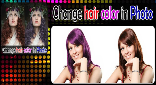 Change hair color in Photo
