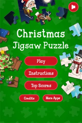 Christmas Jigsaw Puzzle- screenshot