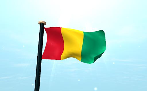 免費下載個人化APP|几内亚旗3D动态壁纸 app開箱文|APP開箱王