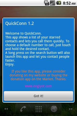 QuickConn(free) - screenshot