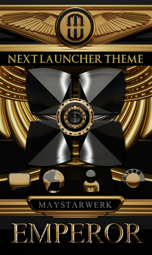 Next Launcher Theme Emperor