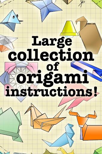 摺紙指示 Origami Instructions Free
