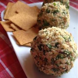 Salmon Cheese Ball.