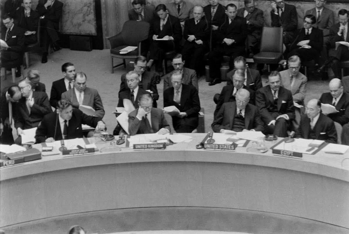 U.N. Security Council Suez
