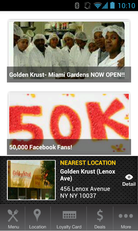 Golden Krust- screenshot