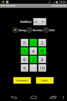 Screenshot of NXT Numeric Remote