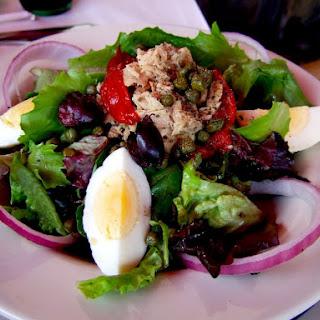 Simple Niçoise Salad.