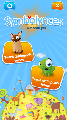 SYMBOLYNCES - Children's game - screenshot