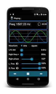 Frequency Sound Generator - screenshot thumbnail