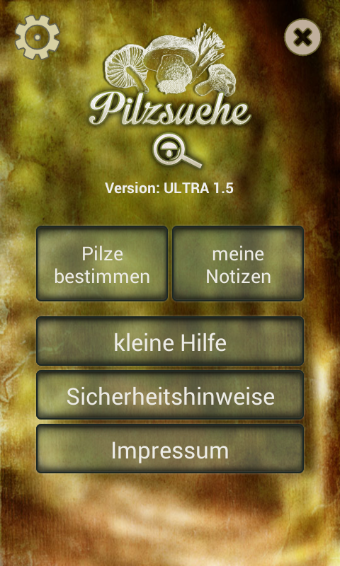 Pilzsuche Ultra- screenshot