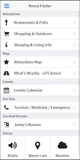 KoreaFinder - Guide to Korea