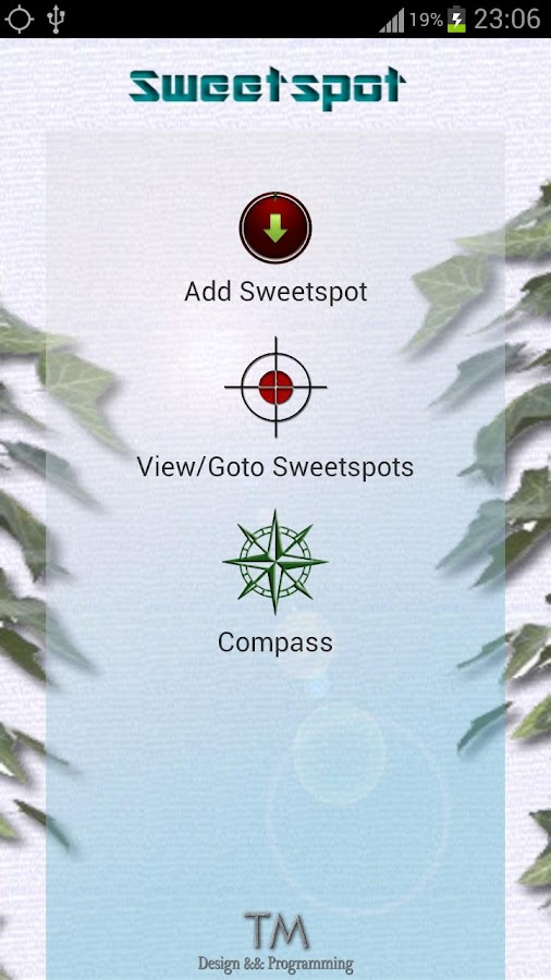 Sweetspot FREE - incl. Compass - screenshot