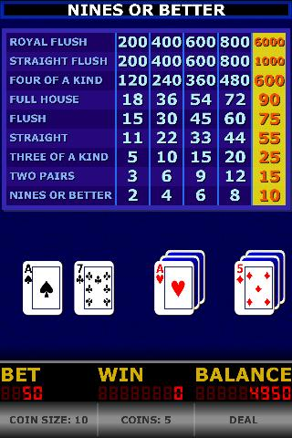 Pick A Pair Poker- screenshot