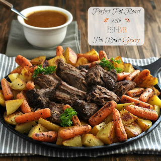 Perfect Pot Roast with Best Ever Pot Roast Gravy