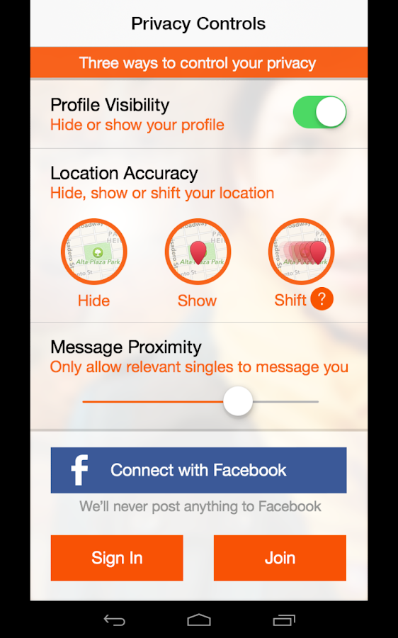Singles AroundMe GPS Dating - screenshot