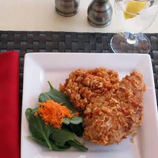 Chicken & Rice Casserole.