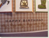 Charlie's Birthday Card Closeup