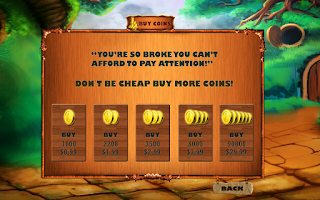 Screenshot of The Legend Slot