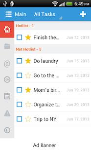 Toodledo Task Lite - screenshot thumbnail