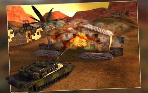 Battle Field Tank Simulator 3D
