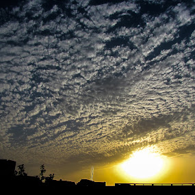 Clouds  by Gaurav Madhopuri - Landscapes Cloud Formations (  )