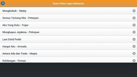 App Kunci Gitar Lagu Pop Indonesia APK for Windows Phone ...