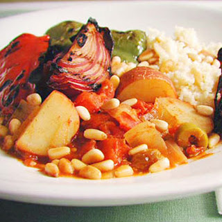 Mediterranean Grilled Vegetable Tagine.