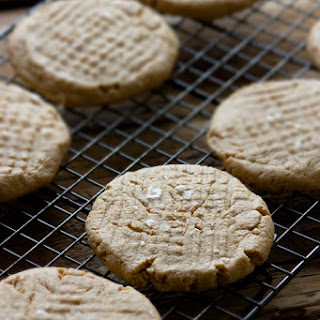Soft and Squidgy Peanut Butter Cookies.