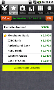 Dollar to Yuan Exchange Rates - Android Apps on Google Play
