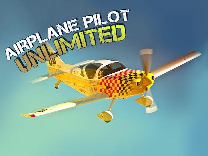 Airplane Pilot Unlimited 3D