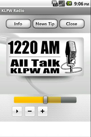 KLPW Radio - screenshot