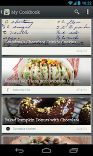 Evernote Food - screenshot thumbnail