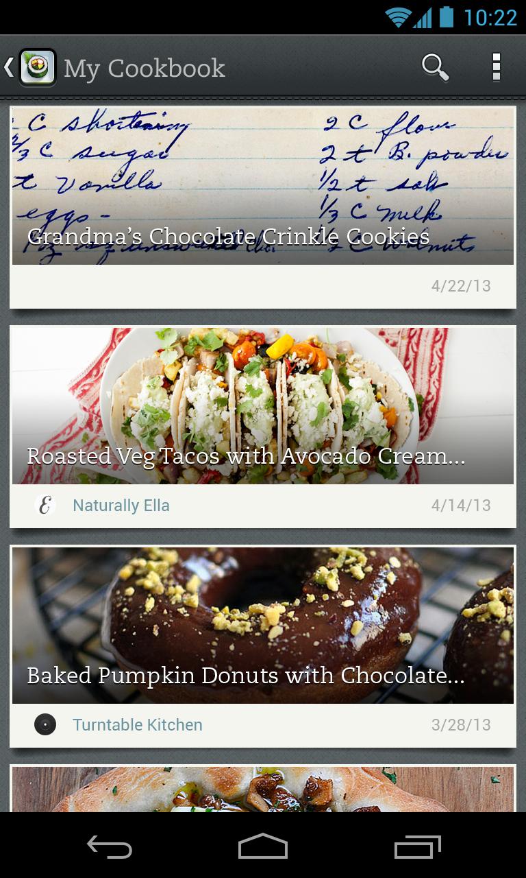 Evernote Food screenshot #12
