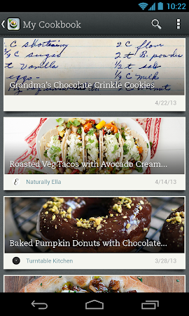 Evernote Food 2.0.7 screenshot 25147