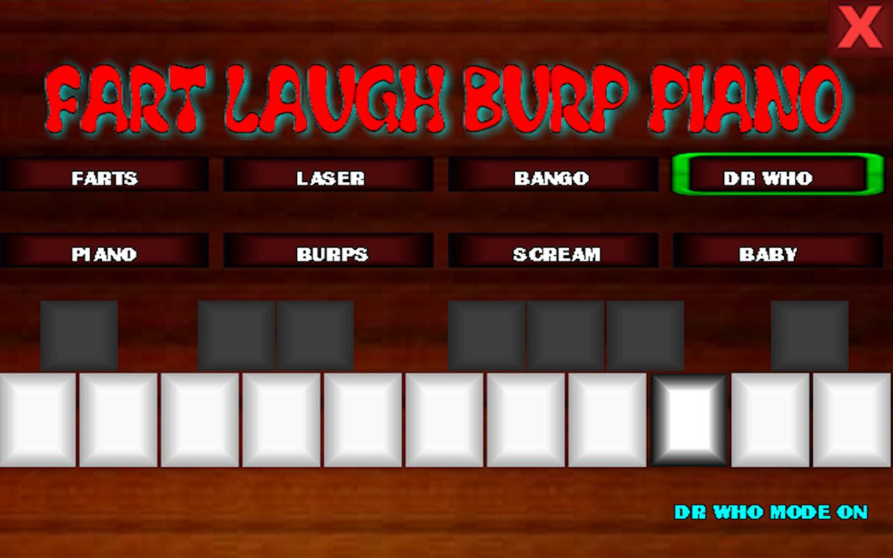 fart laugh burp piano- screenshot