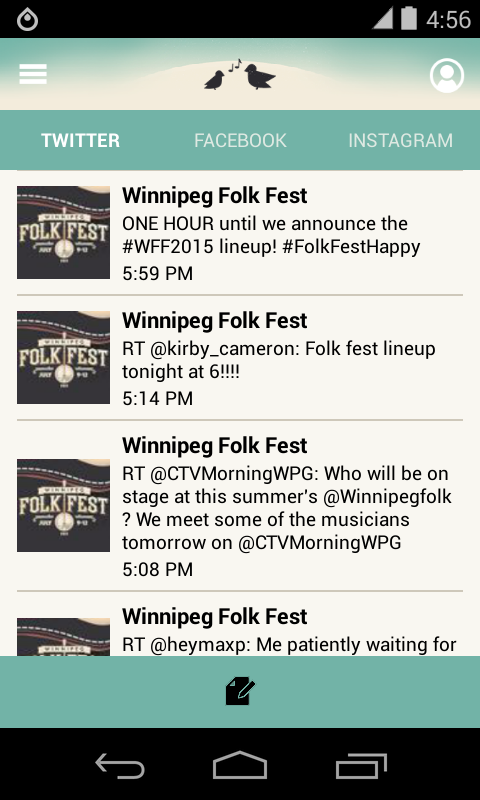Winnipeg Folk Fest 2015 - screenshot