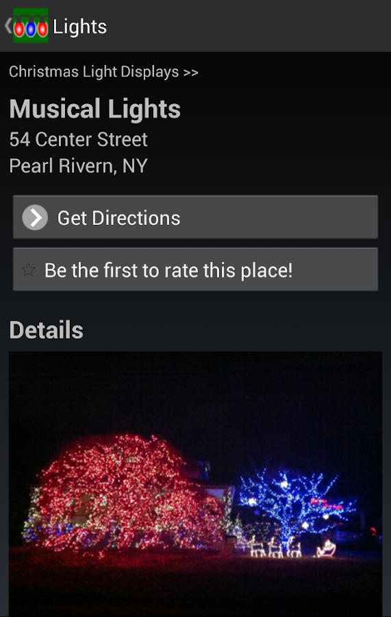 Christmas Light Displays- screenshot