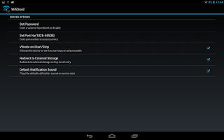 Screenshot of WifiDroid - Wifi File Transfer