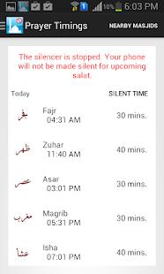 Silence in Masjid - náhled