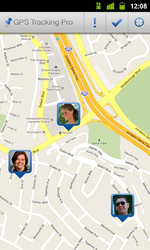 GPS Tracking Pro - screenshot